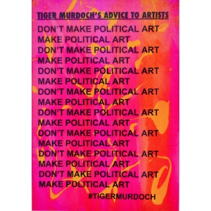 Tiger Murdoch's Advice to Artists